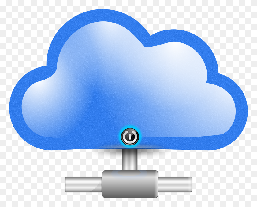 Pin Cloud Clip Art Free - Science And Technology Clipart