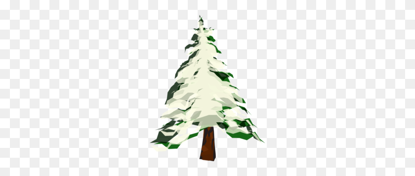Pine Clipart Snowy - Pine PNG