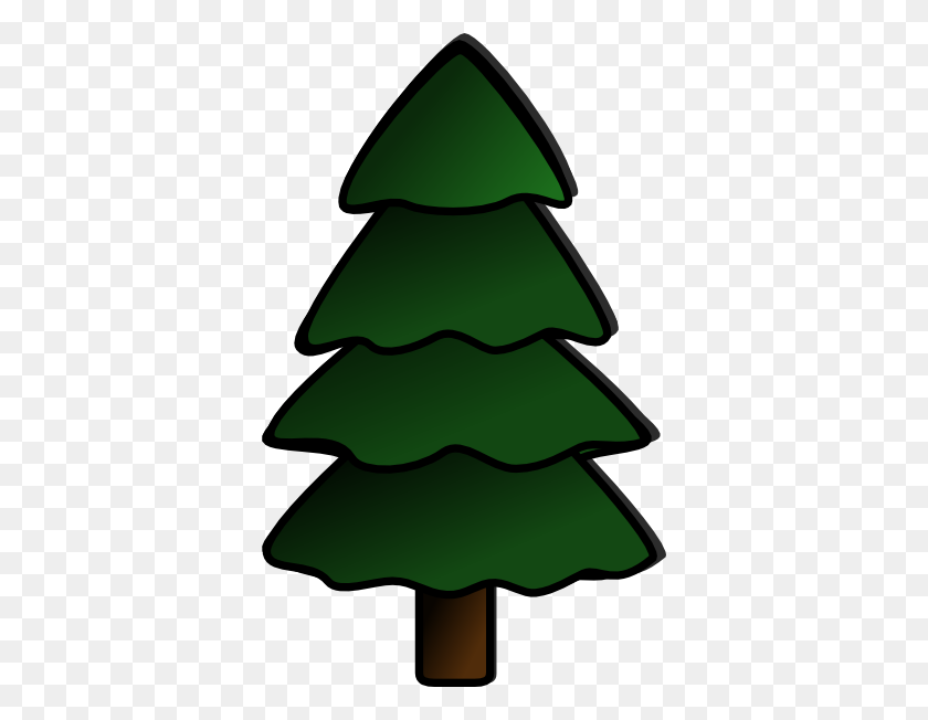 Pine Tree Vector Images Clipart Image - Christmas Tree Clipart PNG