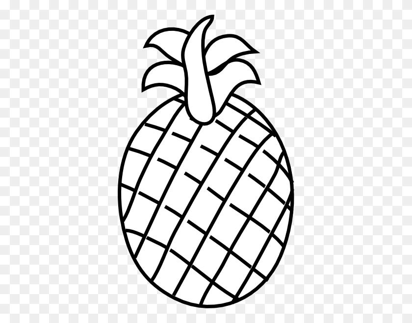 Pineapple Black And White Pineapple Clip Art - Pineapple Black And White Clipart