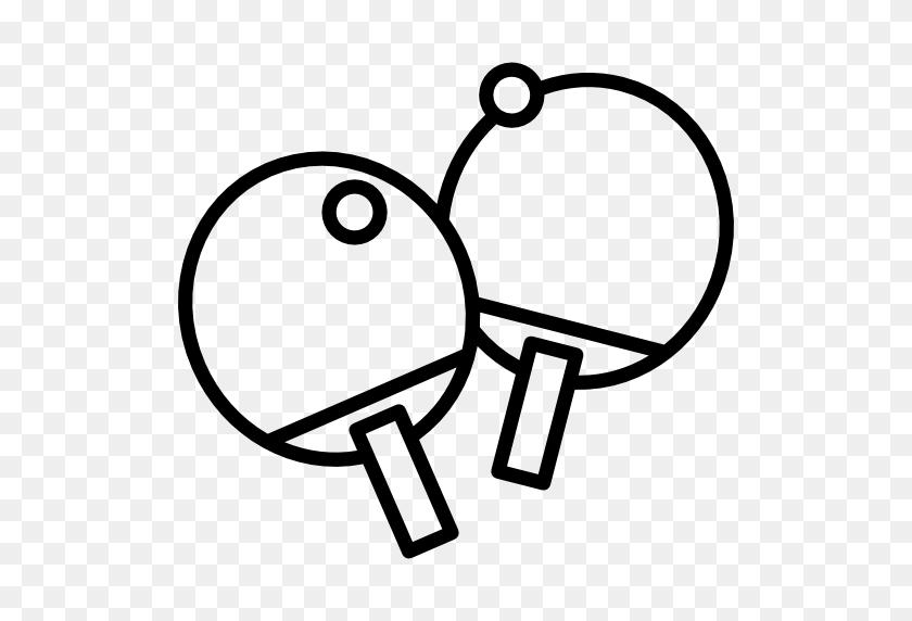 Ping Pong, Table Tennis, Table Tennis Equipment, Sports Ball - Ping Pong Table Clip Art
