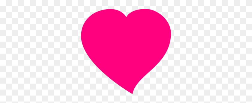 Pink - Pink Heart Clipart