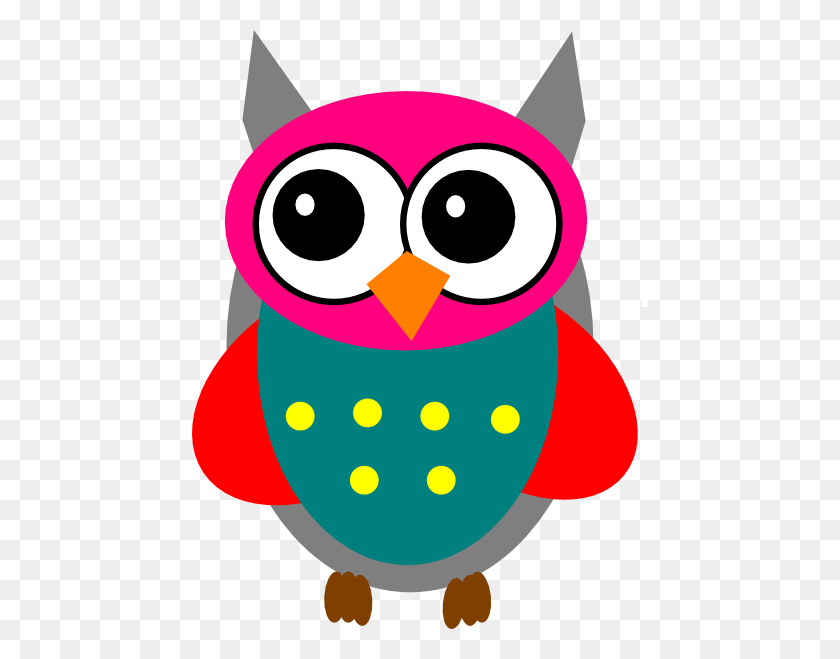 Pink And Gray Owl Png Transparent Pink And Gray Owl Images - Girl Owl Clipart