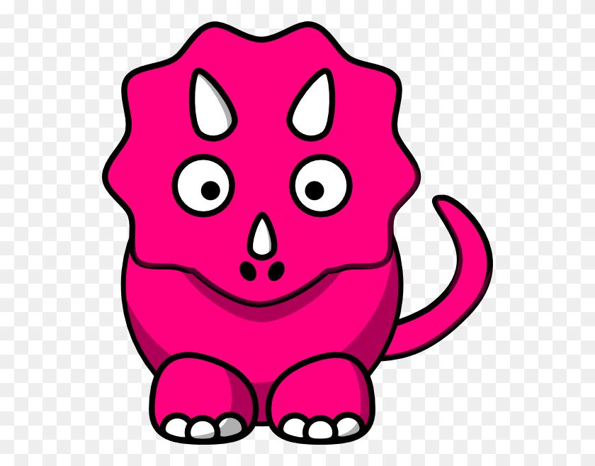 Pink Baby Dinosaur Clip Art - Pink Baby Clipart