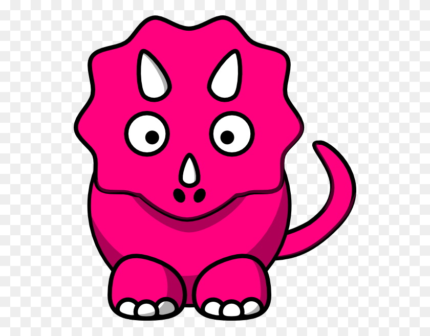 Pink Baby Dinosaur Clip Arts Download - Pink Baby Clipart