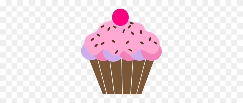 Pink Cupcake Clip Art - Pink Cake Clipart