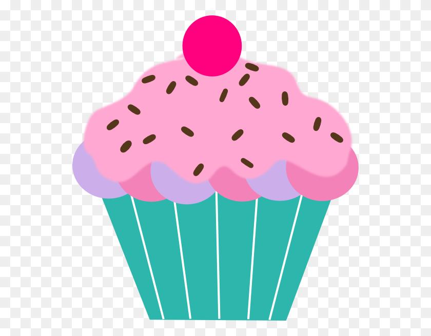 Pink Cupcake Clip Art - Pink Cupcake Clipart