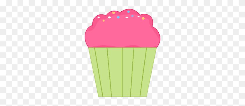 Pink Cupcake Clip Art Image - Pink Cupcake Clipart