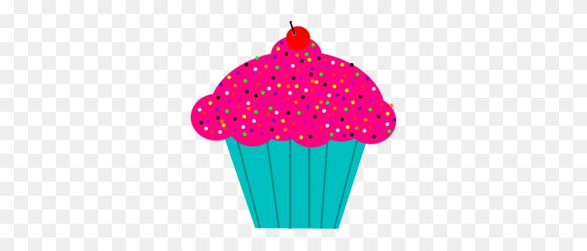 Pink Cupcake Clipart - Pink Cupcake Clipart