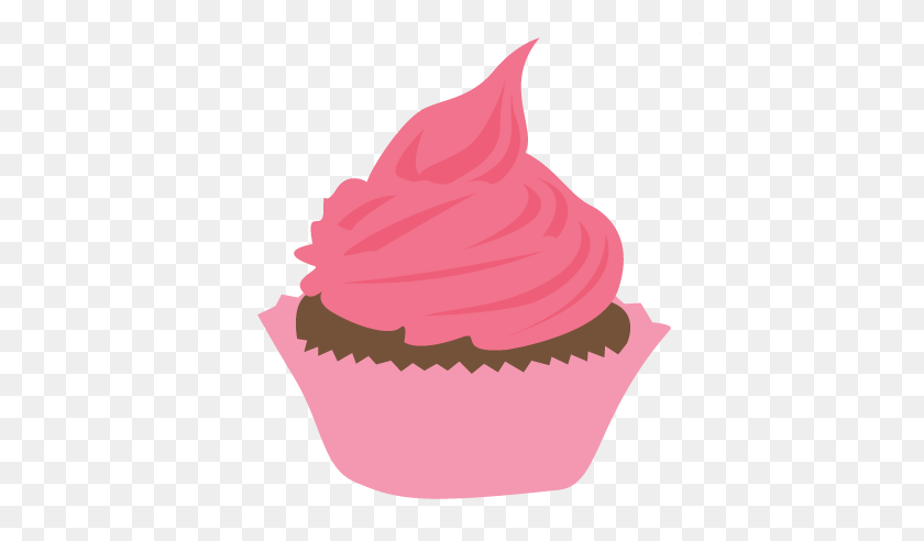 Pink Cupcake Clipart Free Clipart - Cupcake Clipart Free