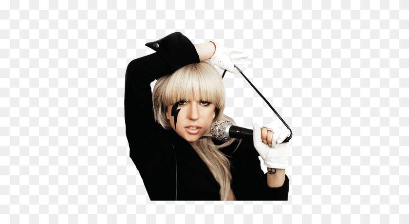 Pink Dress Lady Gaga Transparent Png - Lady Gaga PNG