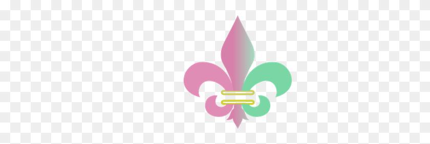 300x222 Pink Fleur De Lis Png Clip Arts For Web - Free Fleur De Lis Clip Art