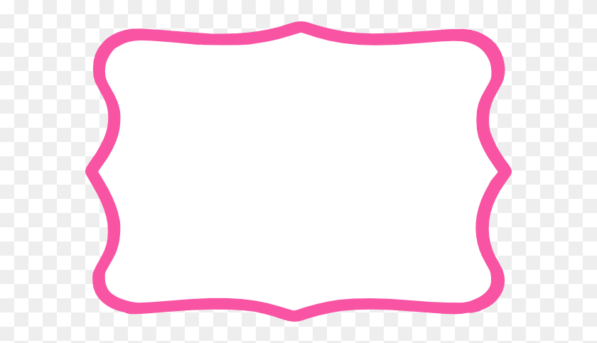 Pink Frame Hot Pink Frame Clip Art - Pink Frame Clipart