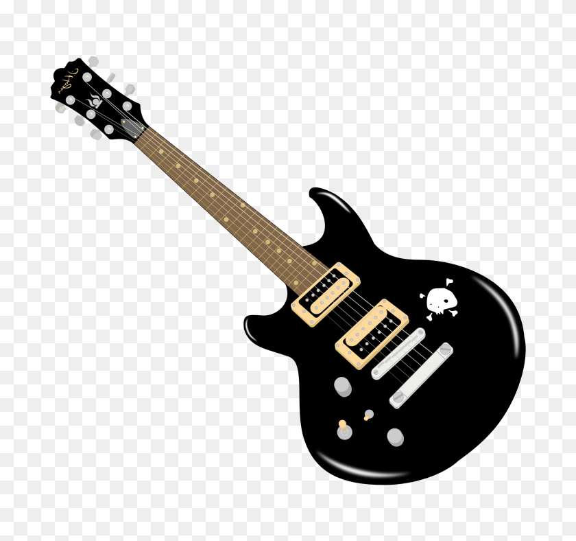 Pink Guitar Clip Art Free Clipart Images Clipartix - Playing Guitar Clipart