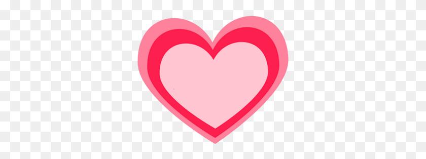 Pink Heart Clip Art - Pink Heart Clipart