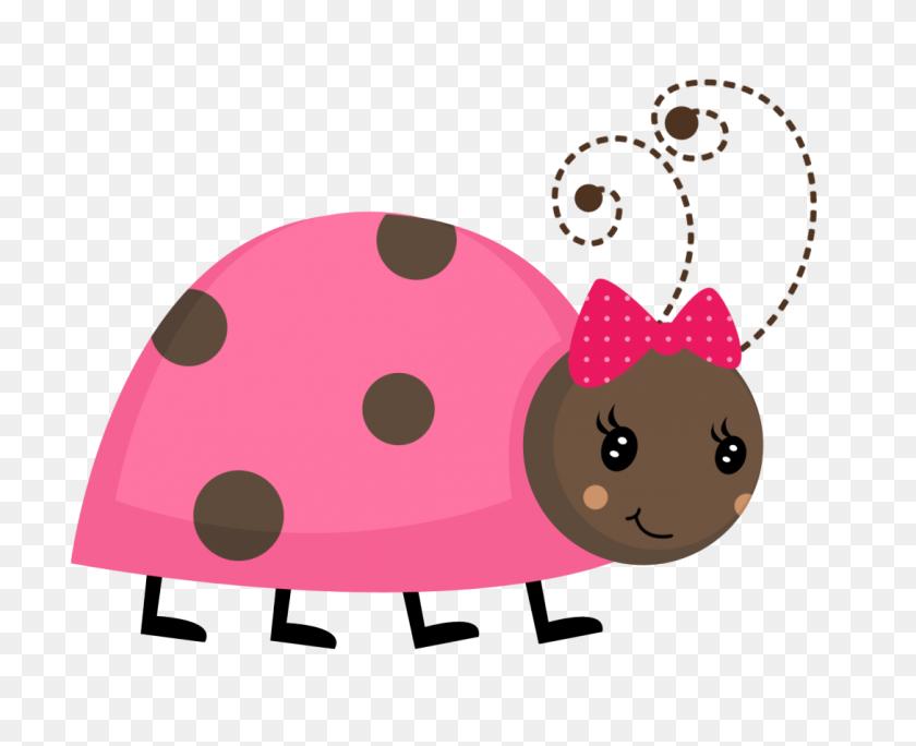 Pink Ladybug Cute Graphics Ladybug, Brown Ladybug - Cute Ladybug Clipart