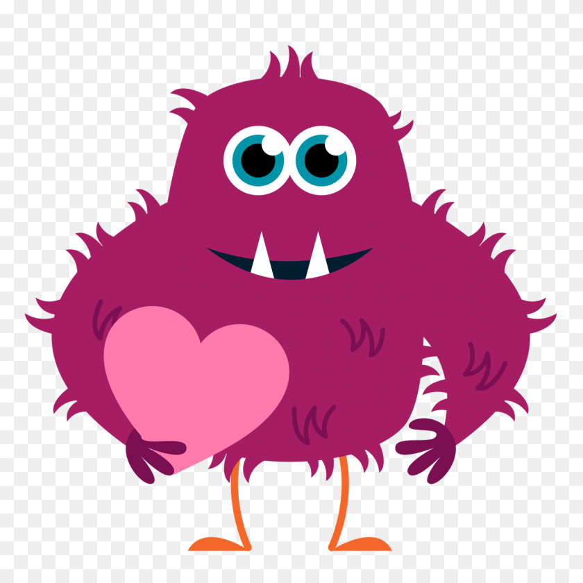 1200x1200 Pink Monster Cliparts - Monster Mouth Clipart
