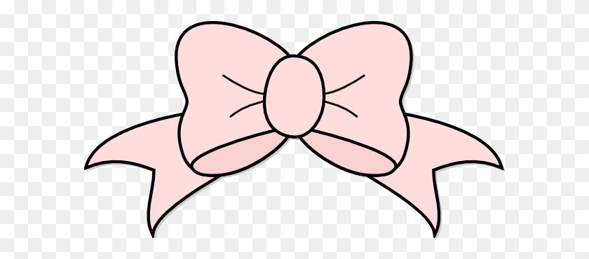 Pink Ribbon Bow Clip Arts Download - Ribbon Bow Clipart
