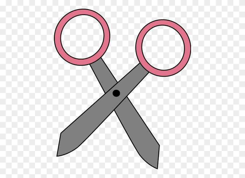 Pink Scissors Clip Art Pink Scissors Vector Image Image - Scissors Clipart PNG