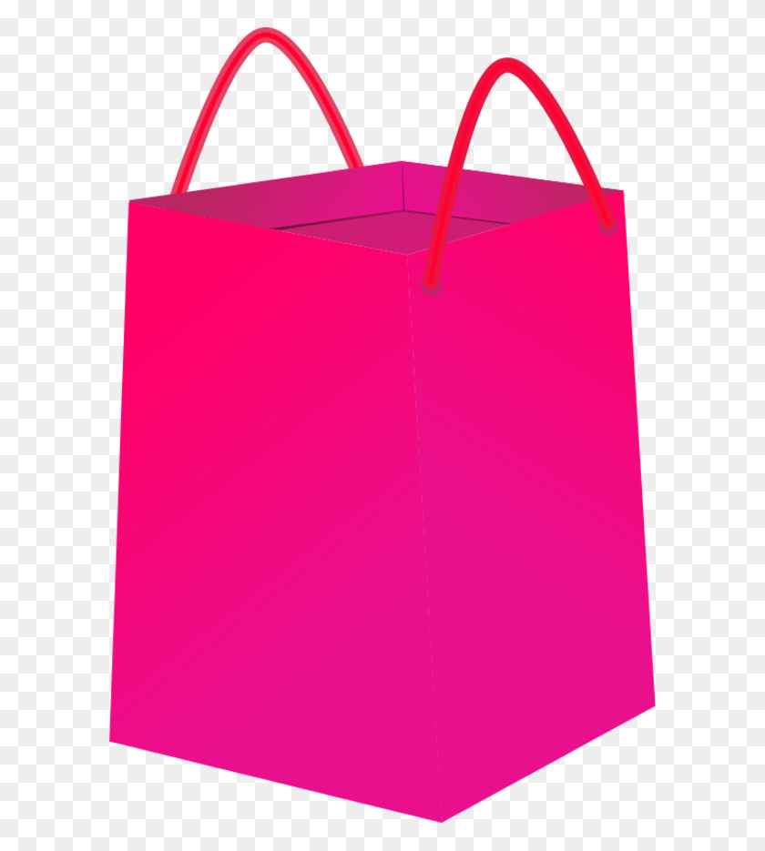 Pink Shopping Bag Clip Art Shopping Bag Vector Clip Art Avon Ads - Shopper Clipart