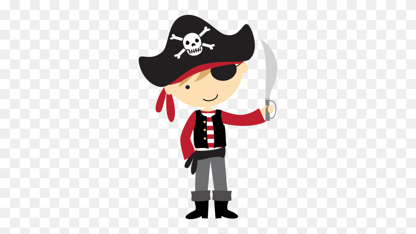Pirate Act Of Robbery Pirates, Pirate Clip Art - Pirate And Mermaid Clipart