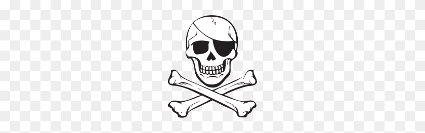 Pirate Skull And Crossbones Png, Skull And Crossbones Transparent - Skull And Crossbones PNG