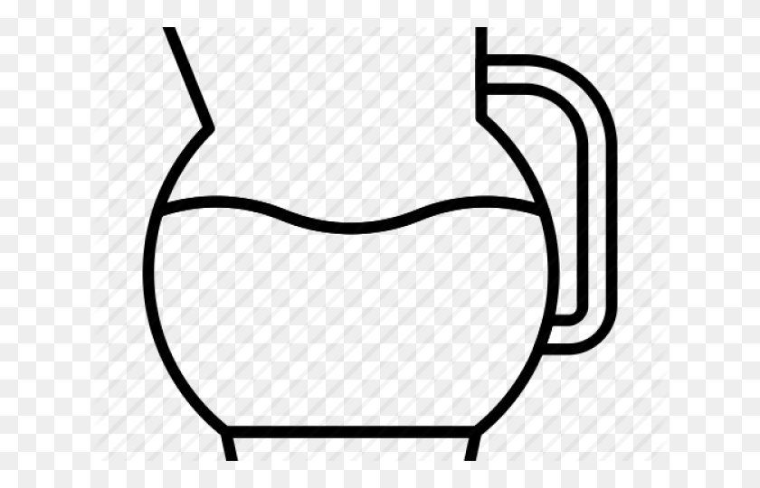 Pitcher Clipart Water Jug - Basketball And Net Clipart