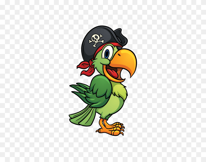 Pittsburgh Pirate Parrot Clip Art - Pittsburgh Penguins Clipart