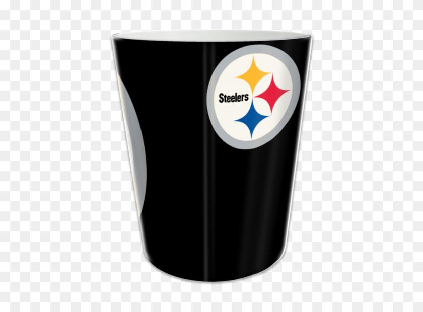 Pittsburgh Steelers Polymer Wastebasket - Pittsburgh Steelers Logo PNG