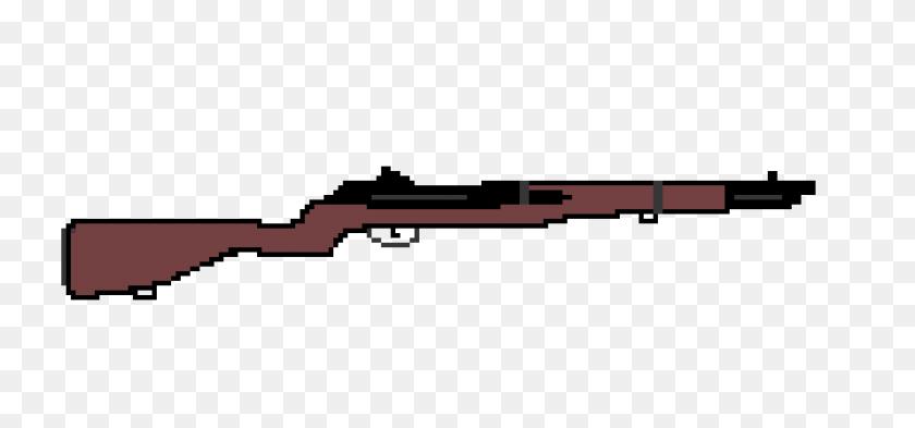 Pixel Art Maker - M1 Garand PNG