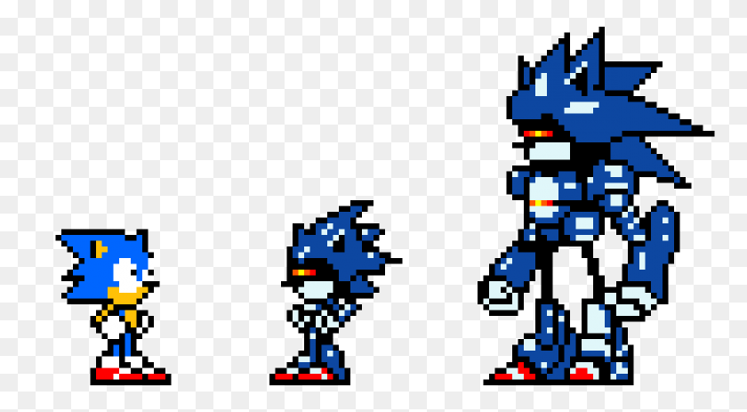 Pixilart - Sonic Sprite PNG – Stunning free transparent png clipart