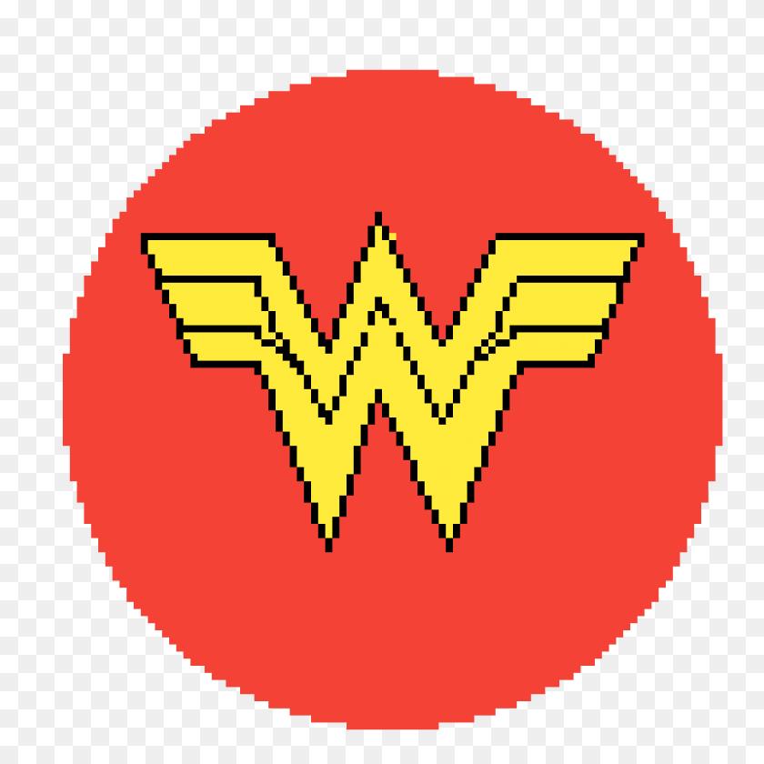 Pixilart - Wonder Woman Symbol PNG