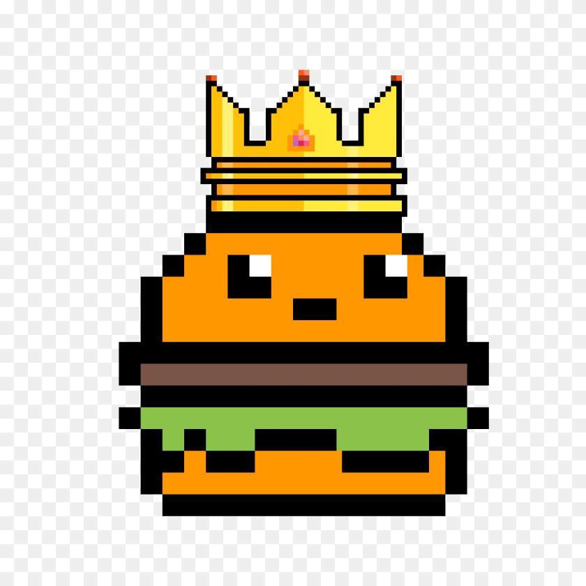 1200x1200 Pixilart - Burger King Crown PNG