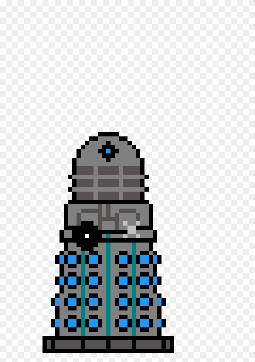 Pixilart - Dalek PNG