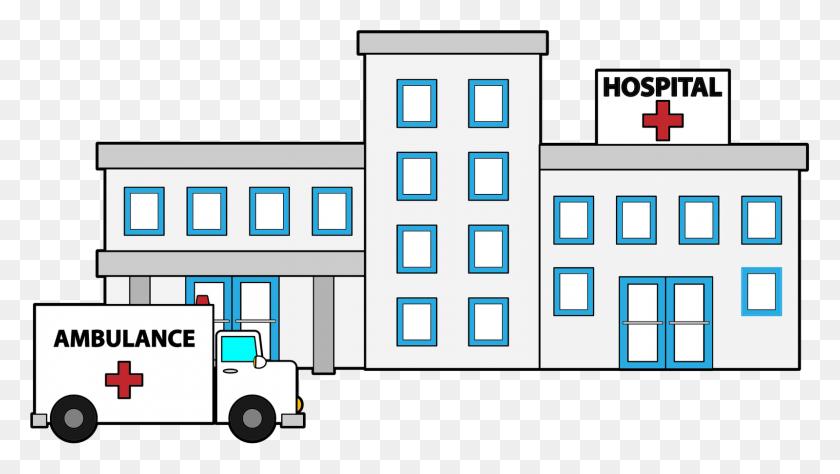 Place Clipart Hospital Building - Place Clipart