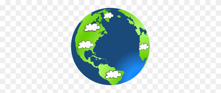 Planet Earth Cloud Clip Art - Earth Science Clipart
