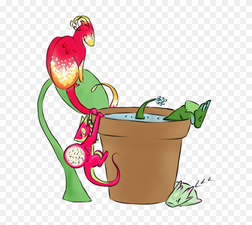 Plant Dragons Welcome - The Little Mermaid PNG