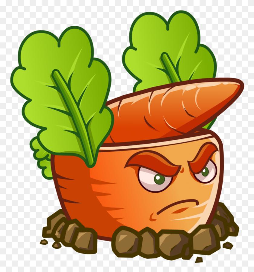 Plants Vs Zombies Carrot Rocket Launcher - Plants Vs Zombies Clipart