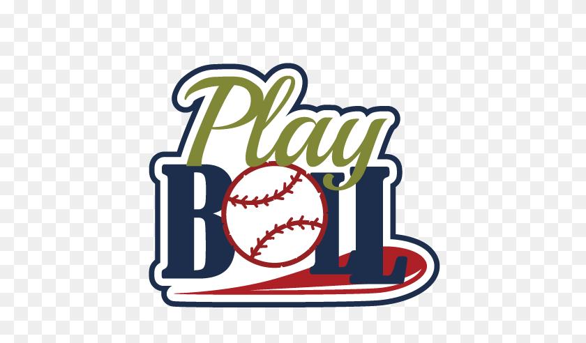 Play Ball Scrapbook Title Baseball Scrapbook Title - Play Ball Clipart
