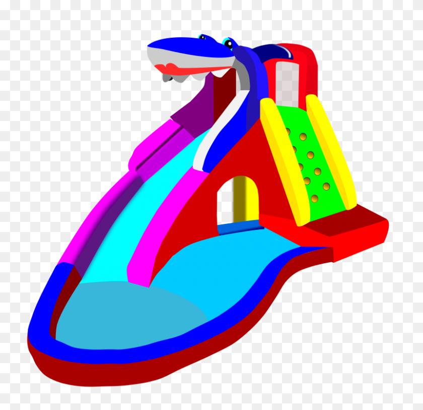 800x773 Playground Clipart Pool Slide - Monkey Bars Clipart