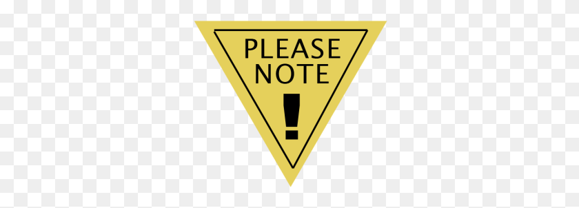 Please Note - Please Note Clipart