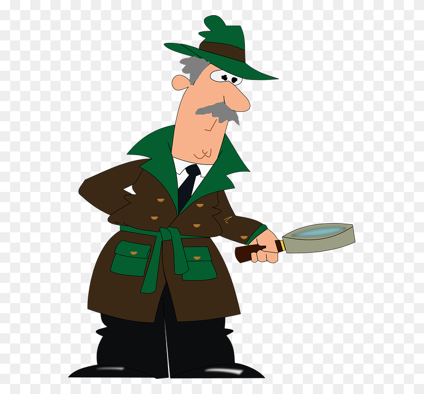 Png Detective Cartoon Transparent Detective Cartoon Images - Detective PNG