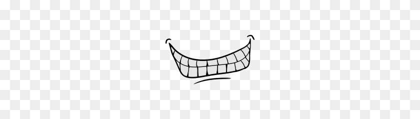 Evil smile - Smile - Aufkleber | TeePublic DE