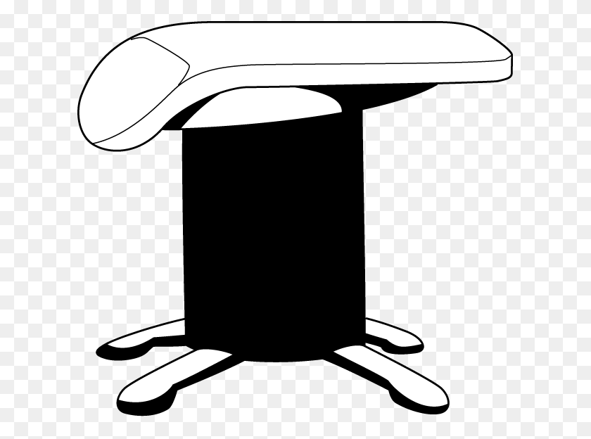 Png Gymnastics Black And White Transparent Gymnastics Black - Table Clipart Black And White