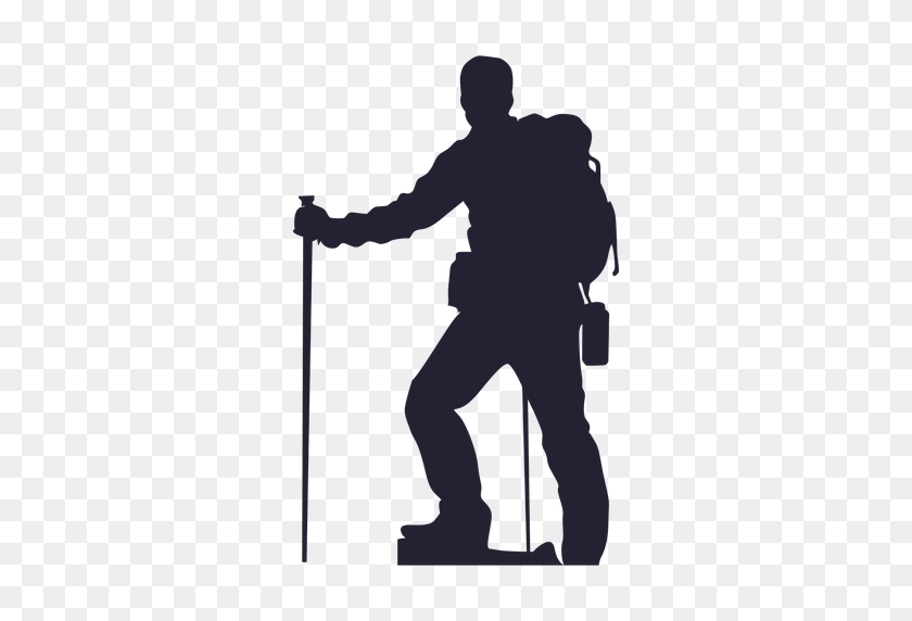 Png Hiker Free Transparent Hiker Images - Soldier Silhouette PNG