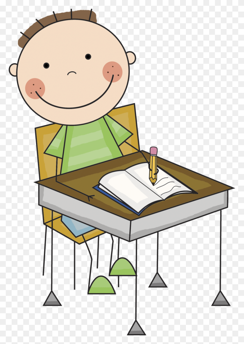 Png Kid Writing Transparent Kid Writing Images - Writing Clipart PNG