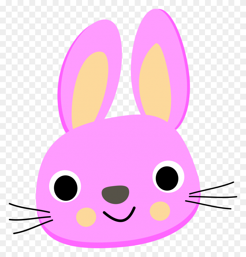 Png Rabbit Face Transparent Rabbit Face Images - Rabbit PNG
