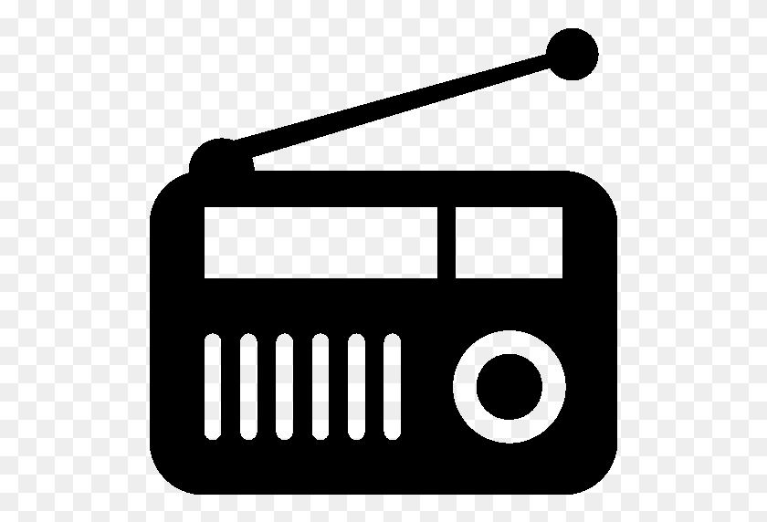 Png Radio Black And White Transparent Radio Black And White - Radio Clipart Black And White