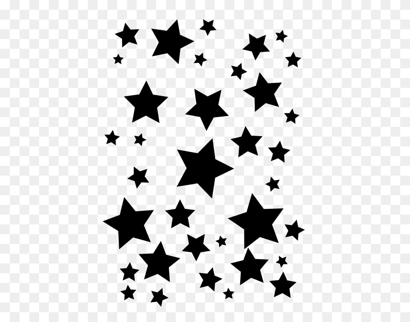 Png Star Black And White Transparent Star Black And White - Black Stars PNG