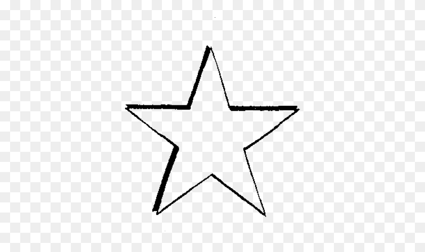 Point Star Drawing - Drawing PNG